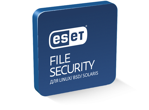 ESET File Security для Linux/BSD/Solaris